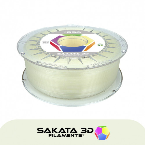 PLA3D850 Natural-Transparent Sample 1.75mm
