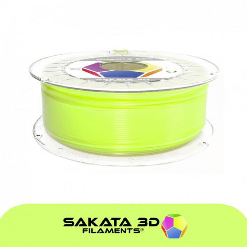 PLA3D850 Fluorescent Green Sample 1.75mm