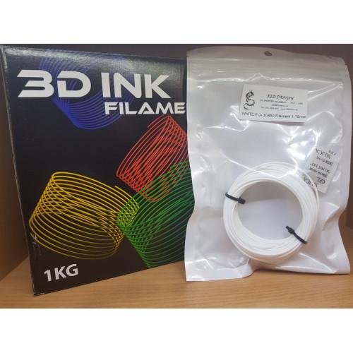 PLA3D850 White Sample 1.75mm