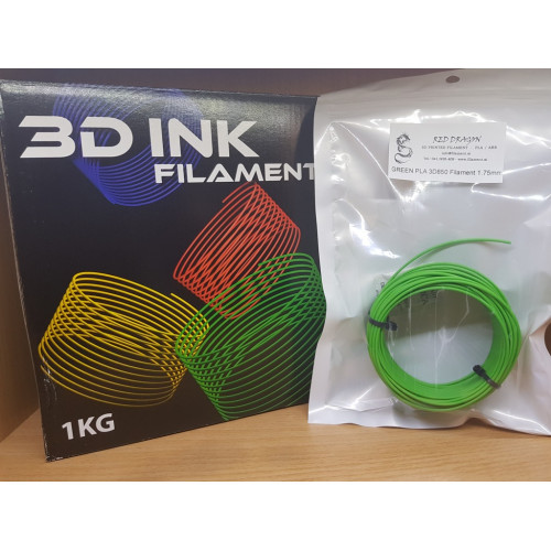 PLA3D850 Green Sample 1.75mm