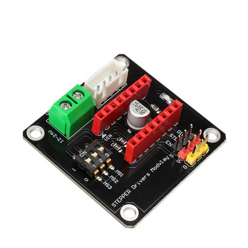 Expansion board for control stepper motor with drivers A4988 and DRV8825