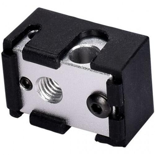 Silicone socket for heater block V6 original Black