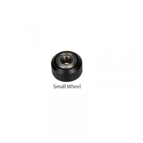 POM Small plastic wheel for profile