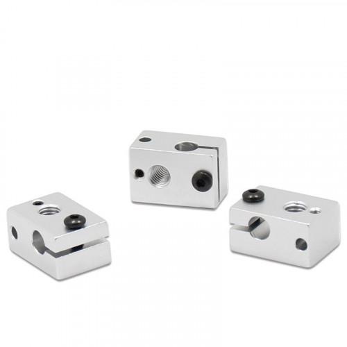 V6 Aluminium Heat Block for HotEnd