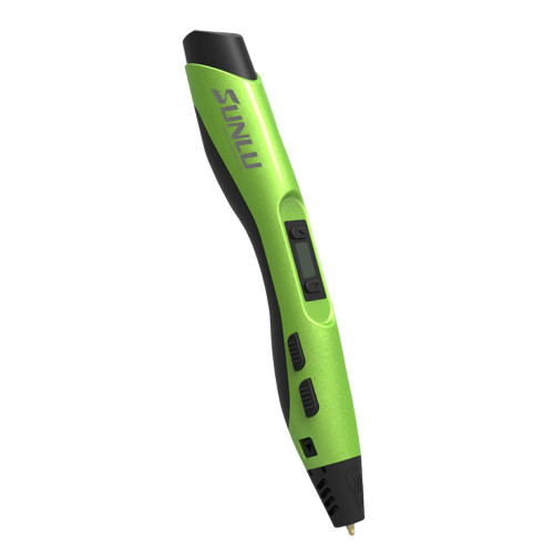 3D pen SL-300 Green + 3x 50g PLA Filament